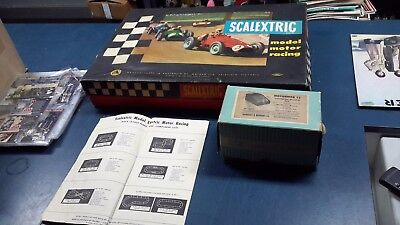 scalextric vintage tri-ang set ford gt Australian Made Moldex Rare Set slot car