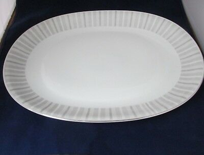"Pattern Nassau By Heinrich H And Co. 16  1/ 4 "" Oval Serving Platter"