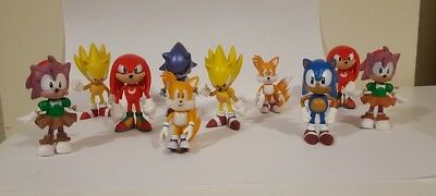 Sonic The HEDGEHOG Sonic Characters 10 characters