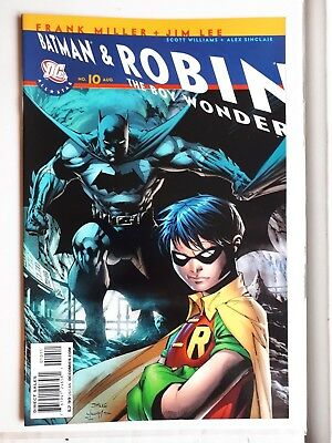 all star batman and robin #10 recalled edition,9.8,brand new
