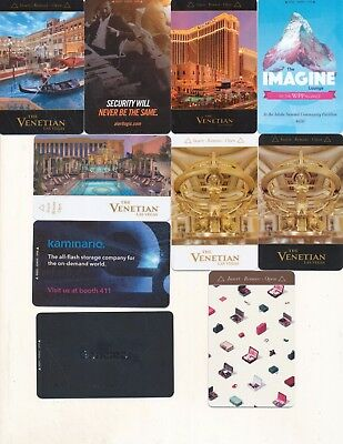 10-from---the VENETIAN // the PALAZZO---Las Vegas,NV------Room keys--K-72