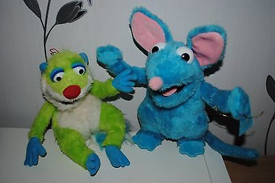 "Bear in the Big Blue House Soft / Plush Toys - Treelo & Tutter 12"" Tall VGC"