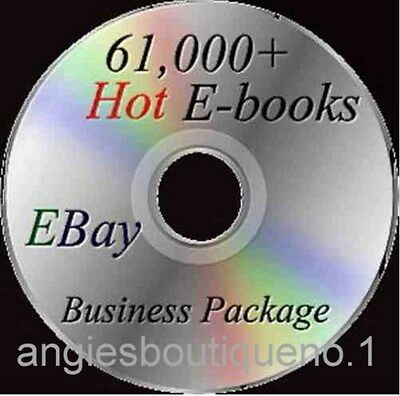 Lot of 61,000 HOT ebooks on DVD Ebay Business Package Resell Rights Free S/H