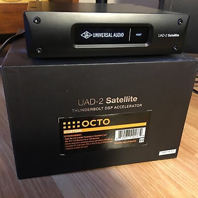 Universal Audio UAD Satellite OCTO - FACTORY REGISTERED with 100+ plugins