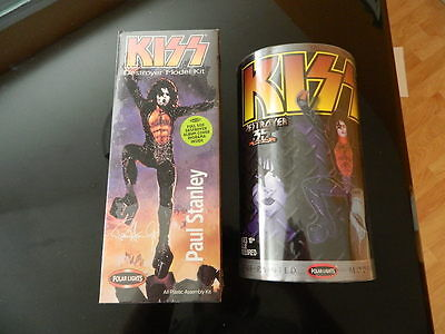Kiss Destroyer Paul Stanley Model Kits Polar Lights Figures #5051 And 35th !!