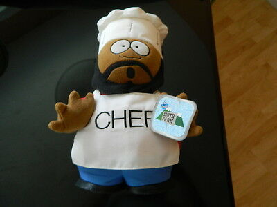 South Park CHEF stuffed plush 1998 Like New with Tag RARE !!!!