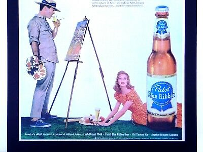 1957 Pabst Blue Ribbon Beer