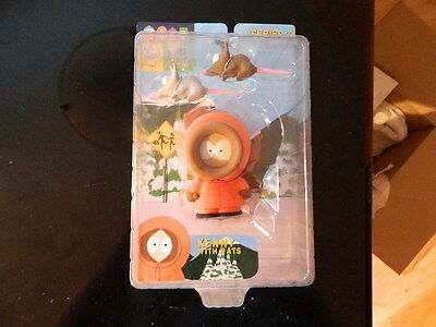 South Park Kenny With Rats Figure Mirage Series 2  MEGA RARE !!