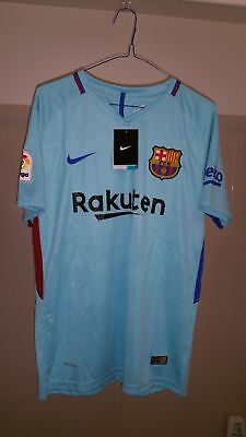 Maillot de football Barcelone Exterieur  2017-2018 taille M Neuf