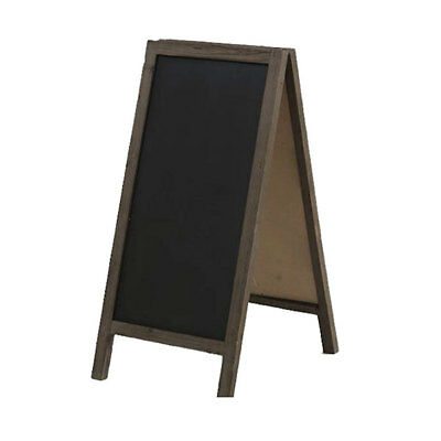 Large  A-Frame Blackboard - Distressed Frame FREE FREIGHT
