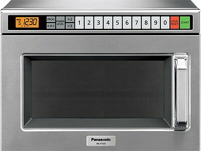 Pro Commercial Microwave Oven, 1700 Watts, 15 power levels, Panasonic NE-17723