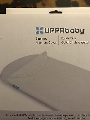 UPPAbaby Bassinet Mattress Cover - New in Box - Ivory/ Off White - Free Shipping