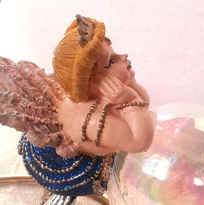 Katherine's Collection At Silver Lake Blue Sparkles Mermaid Ball Ornament - Rare