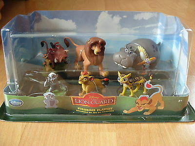 Genuine Disney - The Lion Guard Playset - Kion, Fuli, Bunga, Beshte, Ono & Simba