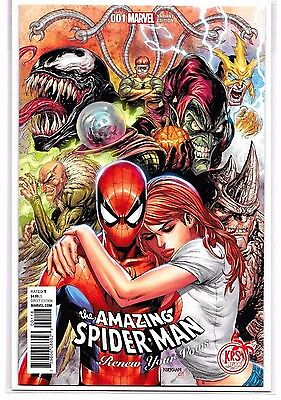 The Amazing Spider-Man #1 Renew Your Vows - Kirkham Secret Variant - Marvel!