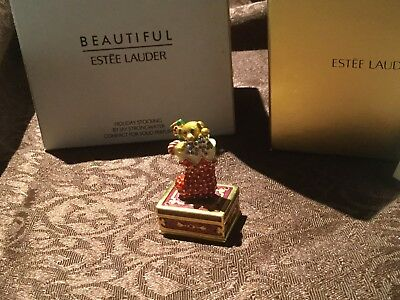 ESTEE LAUDER 2009 Holiday Stocking Compact New With Boxes