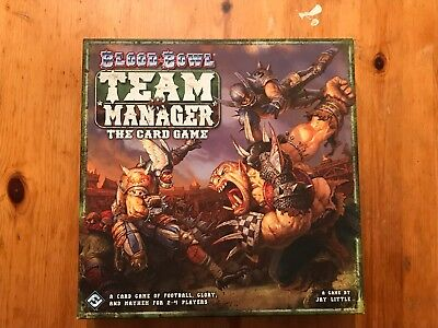 Blood Bowl Team Manager Card Game Fantasy Flight