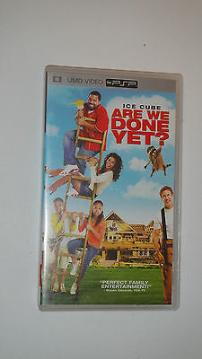 PSP UMD DVD - Are We Done Yet? - Movie
