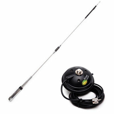 Quad-band Antenna for Mobile Radio TYT TH-9800 Plus+Magnetic Mount with 4m Cable