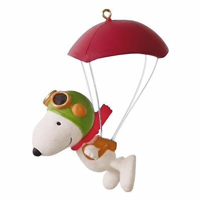2016 Hallmark PARATROOPER SNOOPY The Peanuts Movie dated ORNAMENT