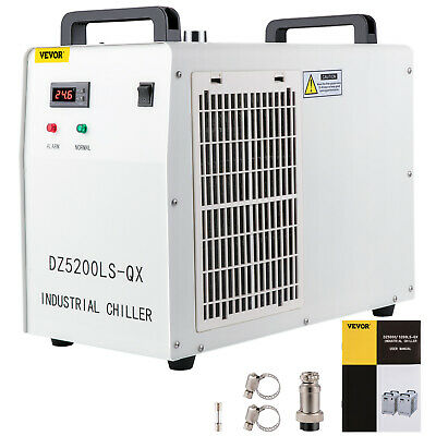 USA!!! Vevor 110V 60Hz CW-5200DG Industrial Water Chiller for CO2 Laser Tube