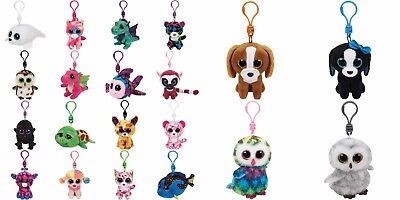 "Ty Beanie Boos Boo 3"" Clips Keyrings - Choose your favourites NWMT"