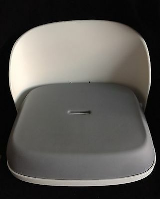 OXO Tot Perch Portable Folding BOOSTER SEAT With Adjustable Straps Beige  EUC