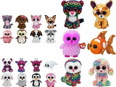 """Ty Beanie Boos 9 to 13"""" MED - Select Your Favourite Boo Soft Toys NWMT"""