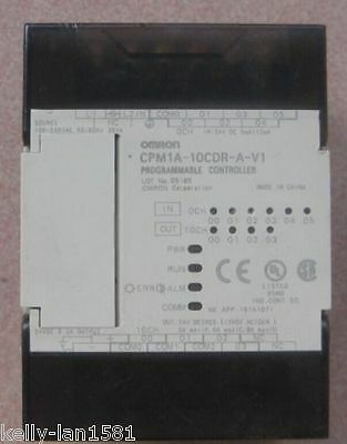 1PC Used Omron PLC CPM1A-10CDR-A-V1 Tested