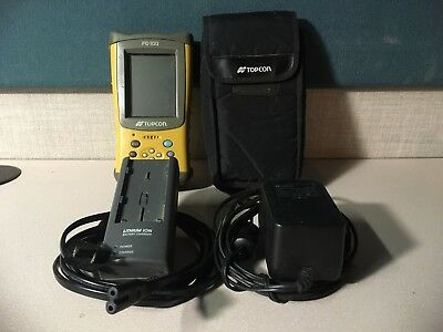 Topcon FC100 Data Collector with TOPSURV Software, bluetooth card and chargers