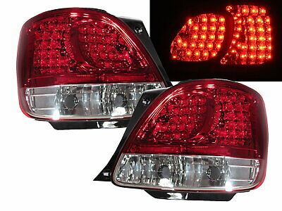 ARISTO S160 MK1 2001-2005 FACELIFTED 4D LED Tail Rear Light Red/Clear for TOYOTA