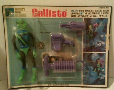 Major Matt Mason  Callisto Factory Sealed Action Figure