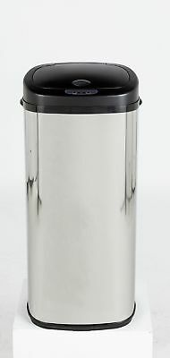 Morphy Richards 50 Litre Sensor Bin - Silver. From the Argos Shop on eba V100883
