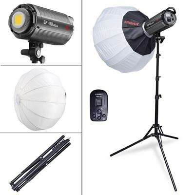 Jinbei EF-150 Studio Video LED Light + 65cm Spherical Softbox + TRS-V Trigger