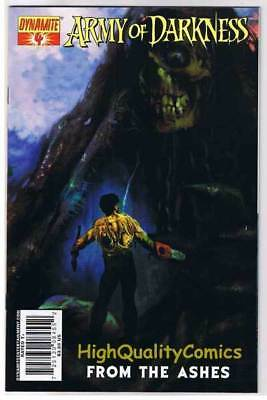 ARMY of DARKNESS : From the Ashes #4, NM, Arthur Suydam, 2007, more AOD in store