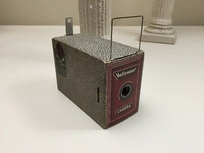Encore Hollywood Camera 1940s Cardboard Novelty Mail In Camera 5 Photos Taken