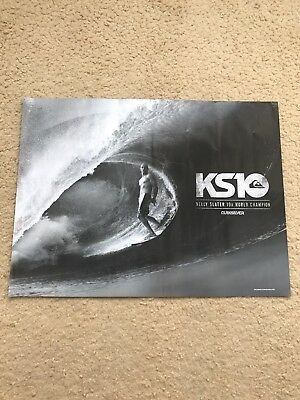 Quiksilver-Kelly Slater-Ks10-10 X Asp World Surf Champion Double Sided  Poster