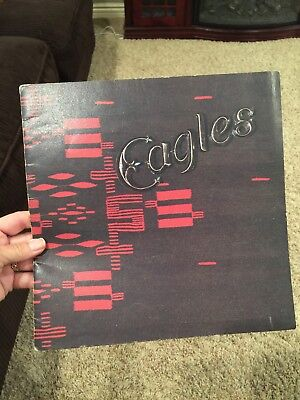 "Eagles Tour Book 1976 Joe Walsh Concert Program VGC 11"" Glenn Frey Don Henley"