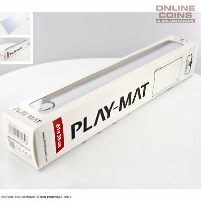 Ultimate Guard Play May Play-Mat 61cm x 35cm Monochrome - WHITE