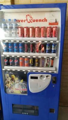 Blue Everquench Drink Vending Machine