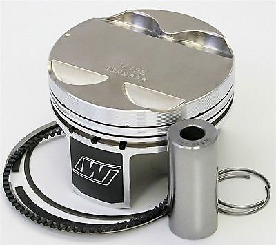 Wiseco 85MM  8.8:1 CR +1mm Oversized Pistons BMW 2.5L M52 M52b25 E36 E34 Turbo
