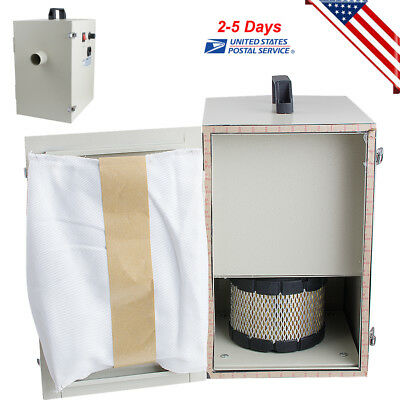 1000W 110V Dental lab Dust Collector Vacuum Cleaner Dust Collecting Device US CE