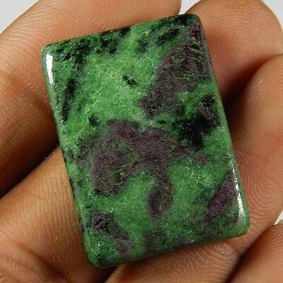 Natural Ruby Zoisite 63.25 Cts Octagon Cushion Loose Cabochon African Gemstone