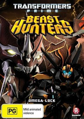 Transformers Prime : Beast Hunters - Omega Lock (DVD) New/Sealed!