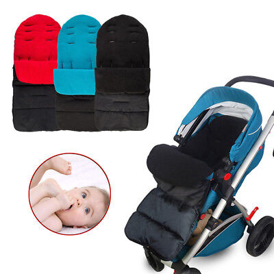 Deluxe Baby Buggy Pram Universal Foot Muff Cosy Toes Stroller Apron Liner Tool D
