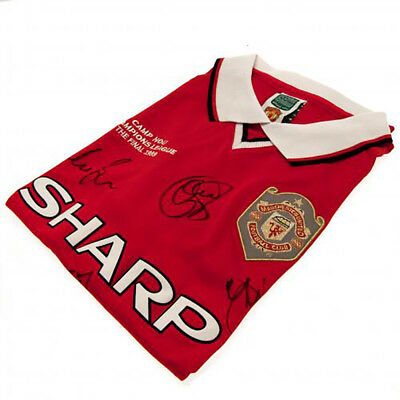 Manchester United F.C - Signed Shirt (1999 CHAMPIONS LEAGUE FINAL)