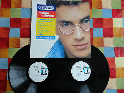 Mantronix Music Madness 2xLP 1987 **EX+/EX/EX**GATEFOLD**