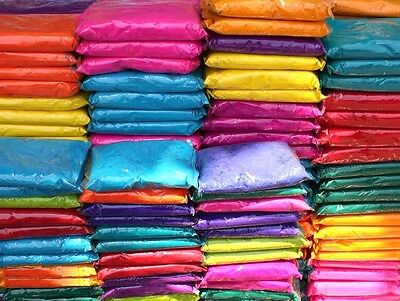 Indian Holi Festival Occasion Gulal Powder Play Game Fun Celebration Party Color