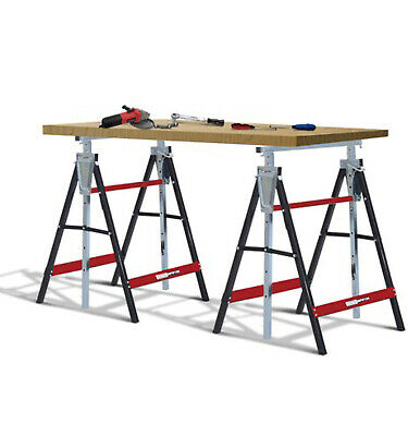 Universal Mitre Saw Stand Workstation with Folding Adjustable Legs & Extensions