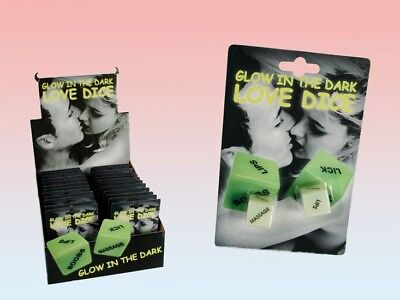 Kama Sutra Love Dice Game Glow In The Dark Sexy Romantic Adult Stocking Filler